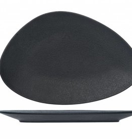 Cosy & Trendy Bord 33x22,5cm Triangle Cosy&Trendy Blackstone Zwart 5437433