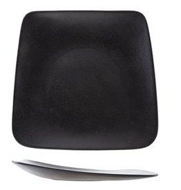 Cosy & Trendy Bord vierkant 28-23x26cm Triangle Cosy&Trendy Blackstone Zwart 5437028