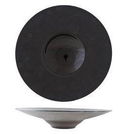 Cosy & Trendy Bord diep 28cm Cosy&Trendy Blackstone Zwart 5437128