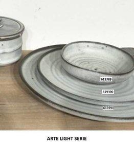 Bord 21cm Retro light Stoneware 619390