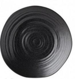 Bord zwart 21cm Tribeca 615506