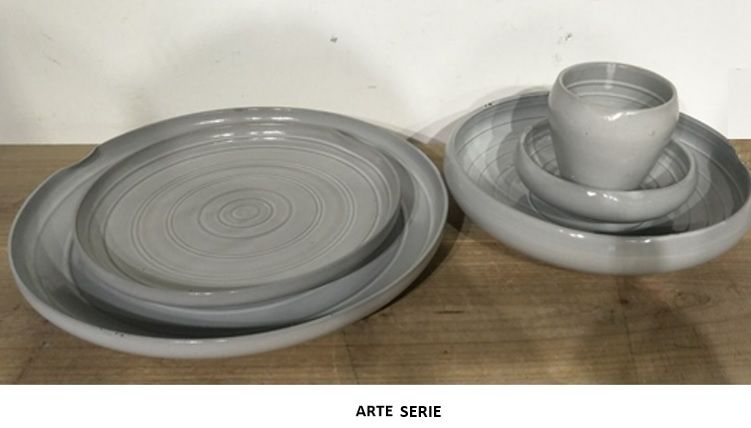 Bord 20cm diep opstaande rand  Arte 619399