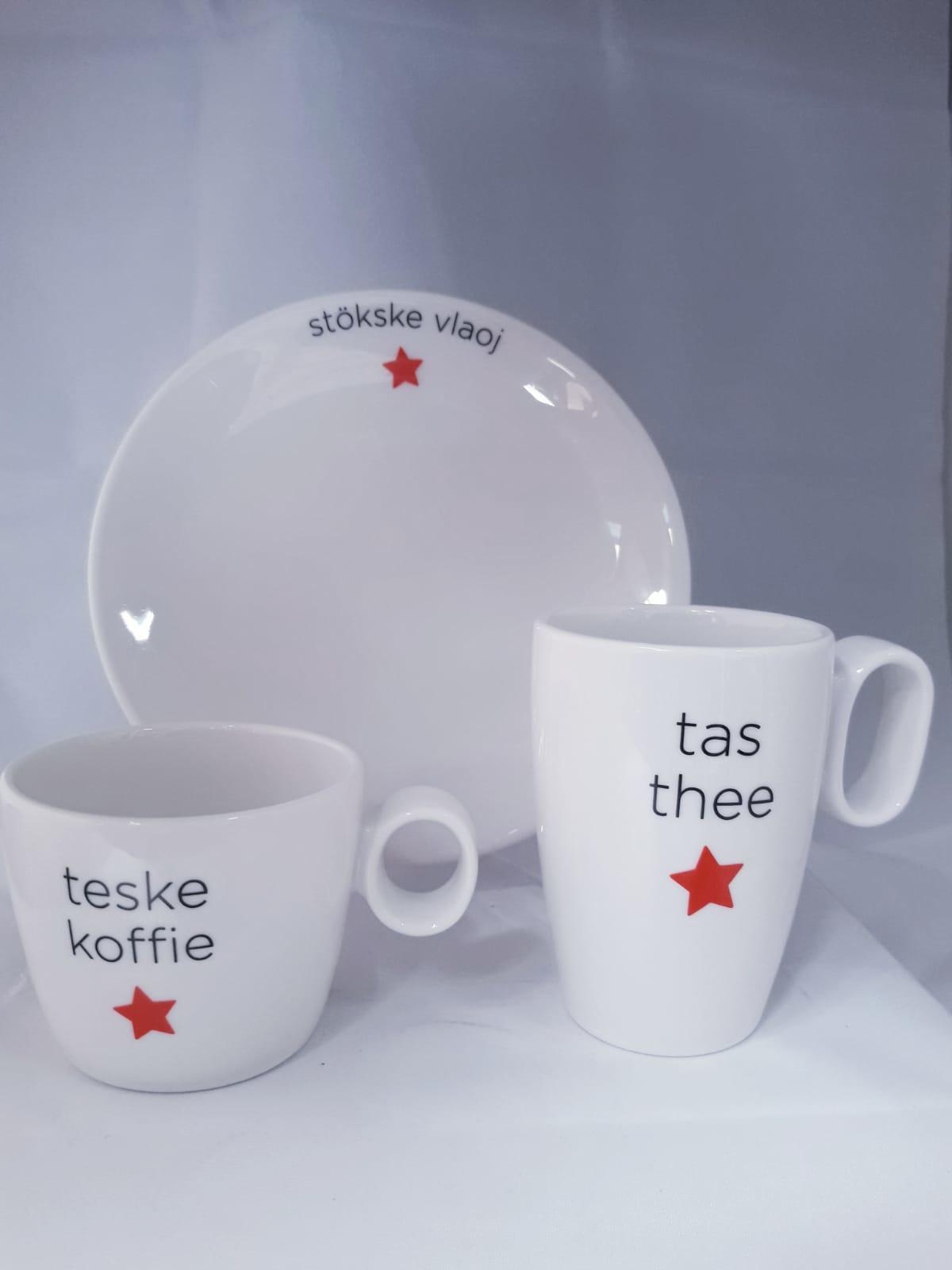 Maastricht Porselein Teske Koffie Beker Maastricht Porselein Lux 23cl