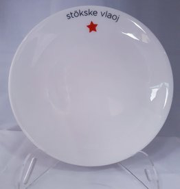 Maastricht Porselein Bord Stökske Vlaoj Maastricht Porselein Lux 20cm