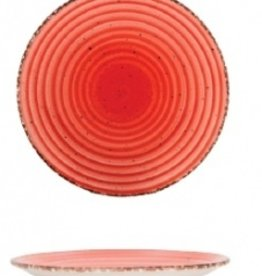Güral Porselen Bord 21cm Rood Gural Ent 617333