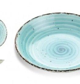Güral Porselen Bord diep 20cm Blauw Gural Ent 617421