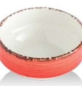Güral Porselen Schaal 12cm Rood Gural Ent 617335