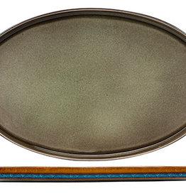 Cosy & Trendy Cosy & Trendy Quintana Green Plat bord 35,5X23,5CM Ovaal - 3948036