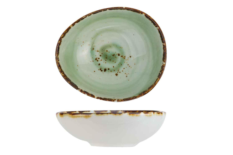 Cosy & Trendy Cosy & Trendy Quiandra Green Minischaaltje 6,6X5,8CM H2.3CM - 8272007
