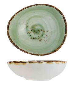 Cosy & Trendy Cosy & Trendy Quiandra Green Minischaaltje 13,5X11,7CM H4.8CM - 8272114