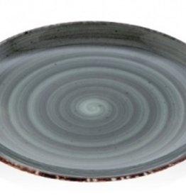 Güral Porselen Bord 27cm antraciet Gural Ent 617339