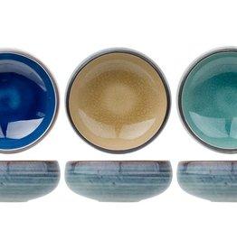 Cosy & Trendy Cosy & Trendy Oviedo Kommetje 10x3,8cm Blauw - Eucalyptus groen - Zand 1654010