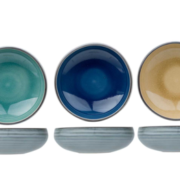 Cosy & Trendy Cosy & Trendy Oviedo Kommetje 12,7x4,7cm Blauw - Eucalyptus groen - Zand 1654013