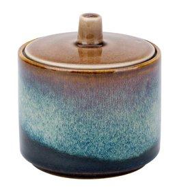 Cosy & Trendy Cosy & Trendy Quintana amber Suikerpot D8XH6.7-8,5CM - 5950108