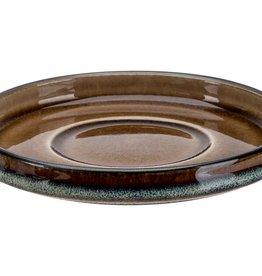 Cosy & Trendy Cosy & Trendy Quintana amber Espresso ondertas D12CM - 5950112