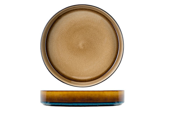 Cosy & Trendy Cosy & Trendy Quintana amber Diep Bord D23XH4,3CM - 5950023