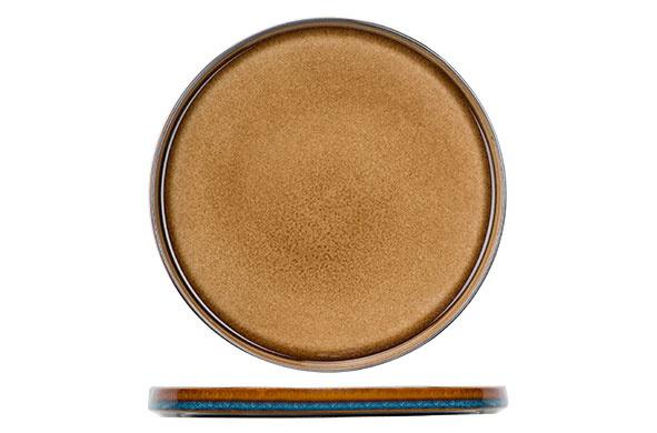 Cosy & Trendy Cosy & Trendy Quintana amber Plat bord D27,5cm - 5950028