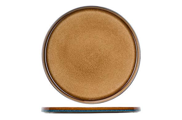 Cosy & Trendy Cosy & Trendy Quintana amber Plat bord D32.5cm - 5950032