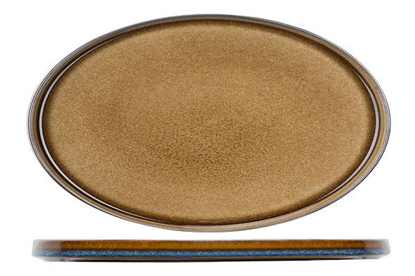 Cosy & Trendy Cosy & Trendy Quintana amber Plat Bord Ovaal 30,5X19CM - 5950031