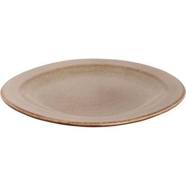 Palmer Imperial Quality Bord Palmer Earth 21 x 2 cm Bruin Stoneware 531695