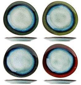 Cosy & Trendy Cosy & Trendy Jamiro Mix Dessertbordje 20,5X19,5CM 4 Ass Eivormig 8240205