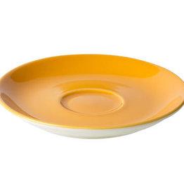Maastricht Porselein Cappuccinoschotel 15,5cm Oranje Maastricht Porselein Bart Colour 531412