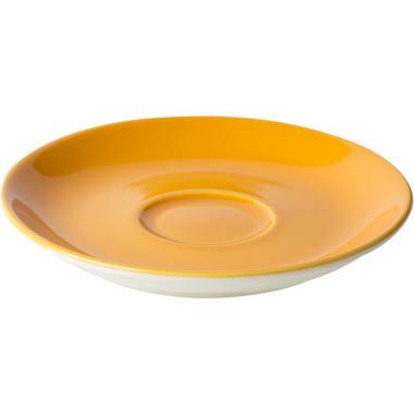 Maastricht Porselein Koffieschotel 13,5cm Oranje Maastricht Porselein Bart Colour 531394