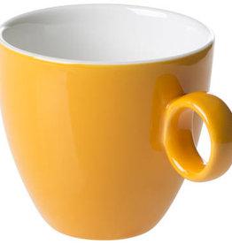 Maastricht Porselein Koffiekop 17cl Oranje Maastricht Porselein Bart Colour 531393