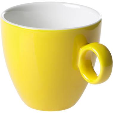 Maastricht Porselein Koffiekop 17cl Geel Maastricht Porselein Bart Colour 531395