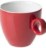 Maastricht Porselein Koffiekop 17cl Rood Maastricht Porselein Bart Colour 531385