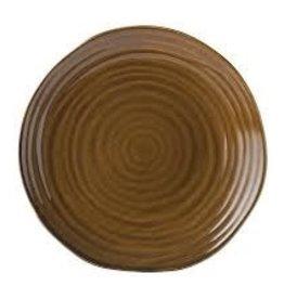 Tribeca bruin Bord plat 28cm 615513