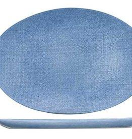 Cosy & Trendy Cosy & Trendy Sajet Blue Plat bord 35X24CM OVAAL 9640035