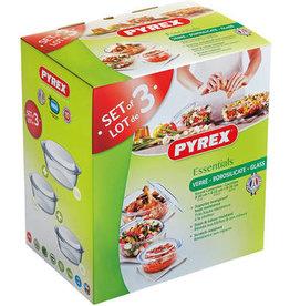 Pyrex  Ovenschalenset Pyrex Optimum 3-delig 527769