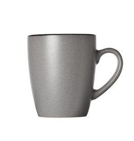 Cosy & Trendy Cosy & Trendy Speckle grey Beker 35CL 12X8,5XH10CM 3049400