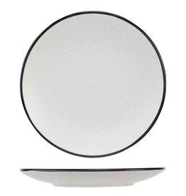 Cosy & Trendy Cosy & Trendy Speckle 2 white Dessertbord 19.5XH2.5CM 1952200