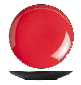 Cosy & Trendy Cosy & Trendy Finesse Red Plat bord 28CM 5536028