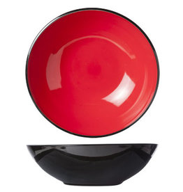Cosy & Trendy Cosy & Trendy Finesse Red Slakom 33XH10CM 5536033