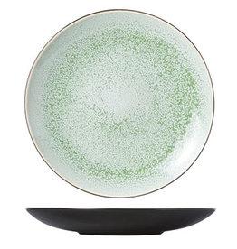 Cosy & Trendy Cosy & Trendy Finesse Green Dessertbord 21.5CM 6536022