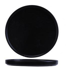 Cosy & Trendy Cosy & Trendy Tower Black Plat bord 27XH2,2CM Stapelbaar 5500027