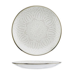 Cosy & Trendy Cosy & Trendy Murano Beige Dessertbord 20CM 3915020