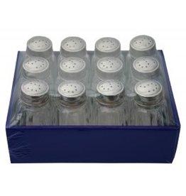 Zoutvaatjes in glas per 12 stuks 12458