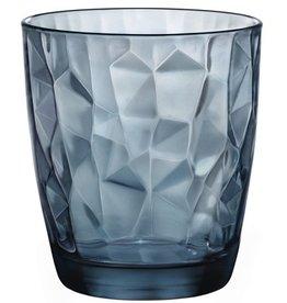 Bormioli Rocco Bormioli Rocco Diamond Tumbler 30 cl 6 stuks Blauw 350220-M02