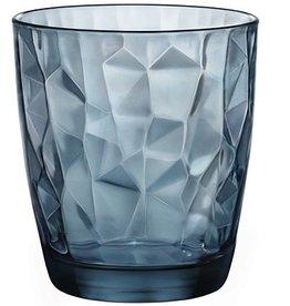 Bormioli Rocco Bormioli Rocco Diamond Tumbler 39 cl 6 stuks Blauw 302259-M02