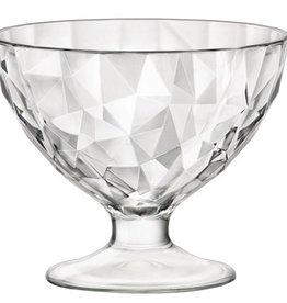 Bormioli Rocco Bormioli Rocco Diamond Ijscoupe 22 cl 6 stuks Helder 302253-M04