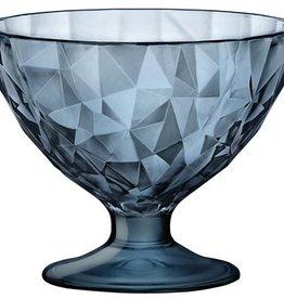 Bormioli Rocco Bormioli Rocco Diamond Ijscoupe 22 cl 6 stuks Blauw 302254-M02