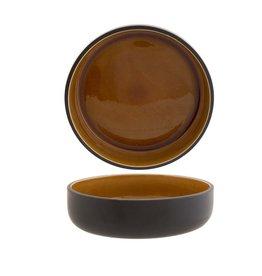 Cosy & Trendy Cosy & Trendy Tallina Brown Diep bord 16,3XH4,2CM 9118116