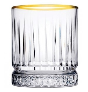Pasabahce Pasabahce Elysia Whiskyglas 35,5cl Gold 621832