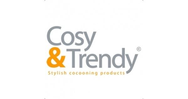 Cosy & Trendy Cosy & Trendy Chiara Petrol Plat Bord 27CM 3934027