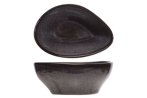 Cosy & Trendy Cosy & Trendy Black Granite Schaal 12X9XH5CM 3491012
