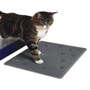 Kattenbak mat Grijs 33 x 43cm